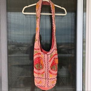 Cool hippie shoulder bag